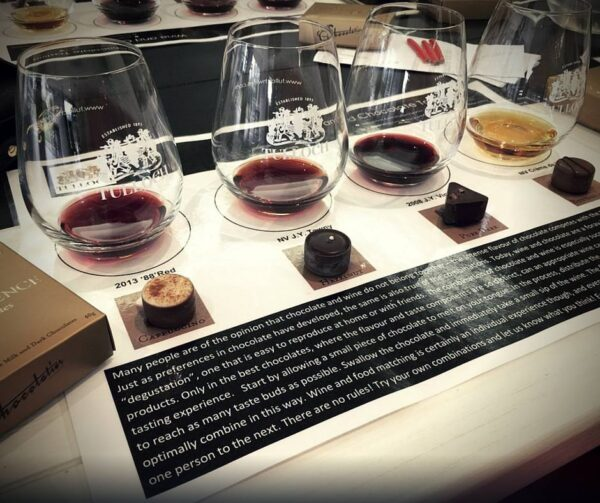 Chocolate and Wine Matching Hunter Valley