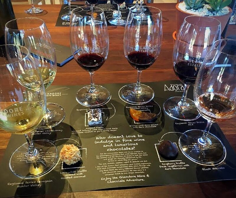 Chocolate and Wine Tasting Heaven Hunter Valley