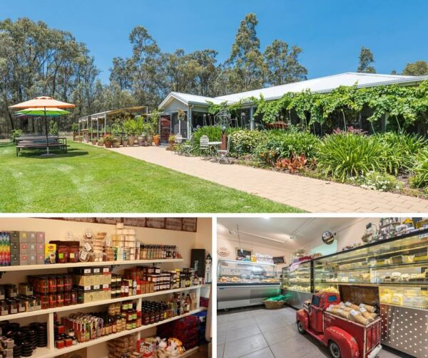 Large Selection of Gourmet Treats Hunter Valley