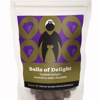 Balls of Delight – Turkish Delight covered in milk chocolate