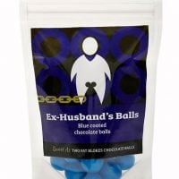 Ex-Husband's Balls – Blue coated chocolate balls