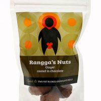 Rangga's Nuts – Ginger coated in chocolate