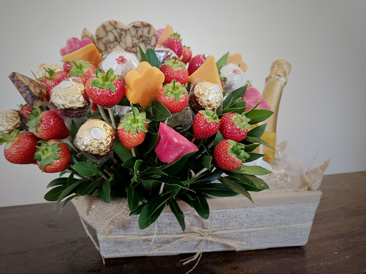 Cheese Bouquets A Gourmet Edible Gift Two Fat Blokes