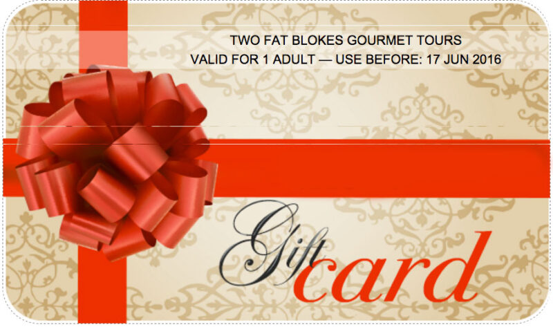 Gift Cards Hunter Valley