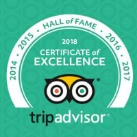We Earned the Certificate of Excellence 'Hall of Fame'