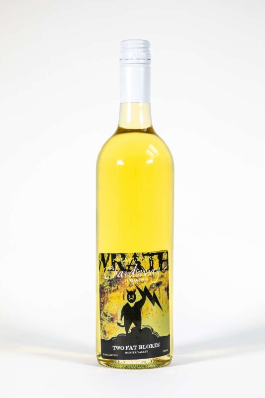 Aged Chardonnay - Wrath - Hunter Valley Gourmet Food & Wine Tasting - Two Fat Blokes